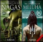 The Secret of The Nagas & The Immortals of Meluha: (Set of 2 books)