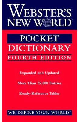 Websters New World Pocket Dictionary