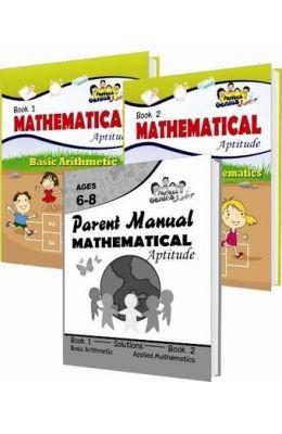 Perfect Genius Mathematics Aptitude Activity Books For Juniors Grade 1 & 2 Set Of 3 Books