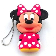 Minnie Mouse 8 Gb Pen Drive Pink