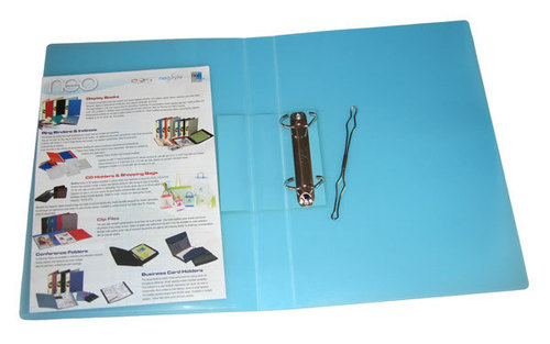 Neo Ring Binder, 2-D Ring with Stopper, 25 mm, Fresh Colours