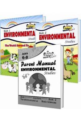 Environmental Studies Set Of 3 Books For Juniors Grade 1 & 2