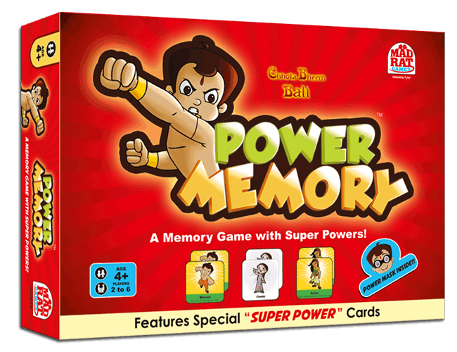 Chhota Bheem Power Memory