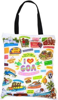 Eco Corner Big White Goa Cotton Bag