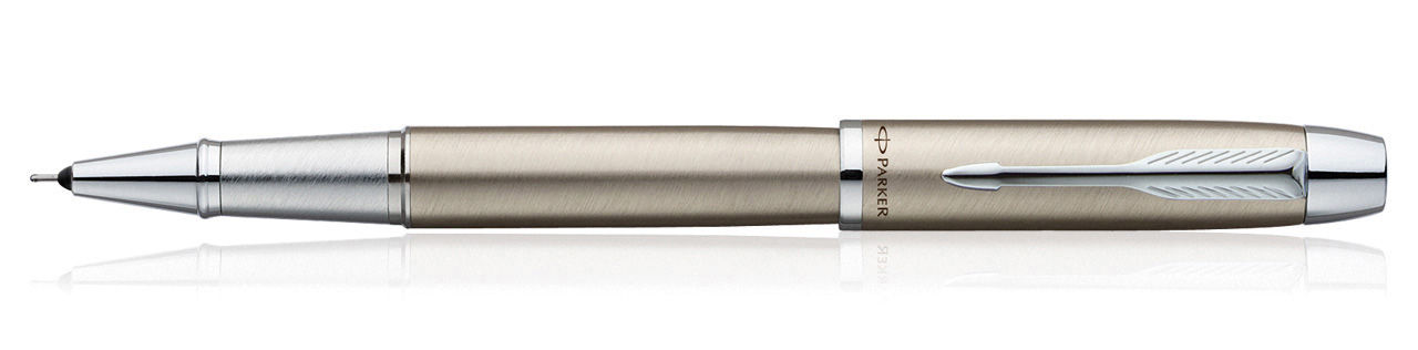 Parker IM Brushed Metal CT Roller Ball Pen