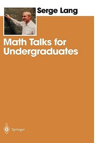 Math Talks for Undergraduates 1st Edition price comparison at Flipkart, Amazon, Crossword, Uread, Bookadda, Landmark, Homeshop18