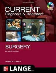 Current Diagnosis & Treatment Surgery Wc/D