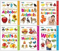 My Early Learning Book (set Of 6 Titles) - Full Laminated