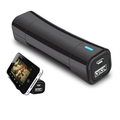 Power Cradle 2600 mAh Power Bank with Mobile Stand(Black)