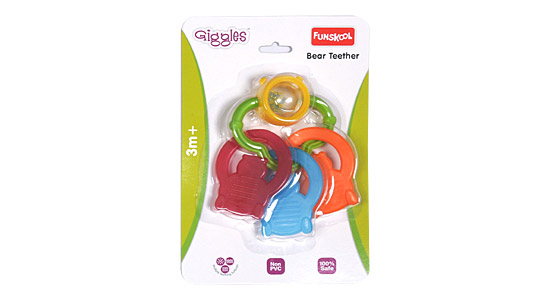 Funskool Bear Teether Rattle