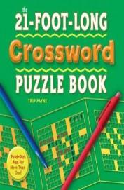 21 Foot Long Crossword Puzzle Book