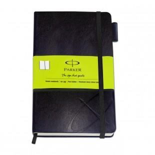 Parker Std Large Notebook Green Sleeve