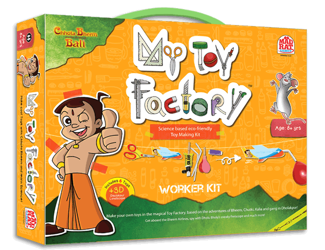 Chhota Bheem CBM My Toy factory