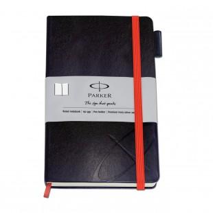 Parker Std Large Notebook Silver Sleeve