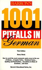 1001 Pitfalls in German