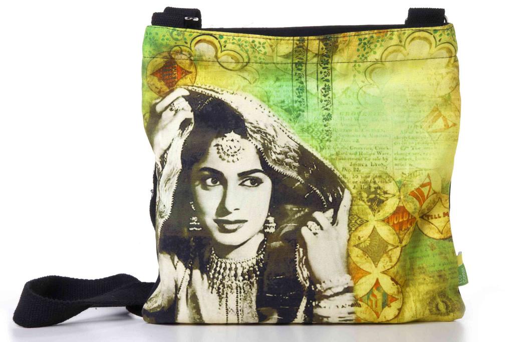 Eco Corner Waheeda Rehman Cotton Sling Bag