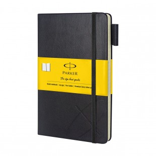 Parker Std Large Notebook Yellow Sleeve