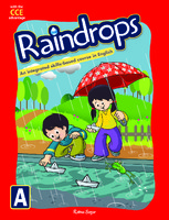 Raindrops English Reader Book A (CCE Edition)