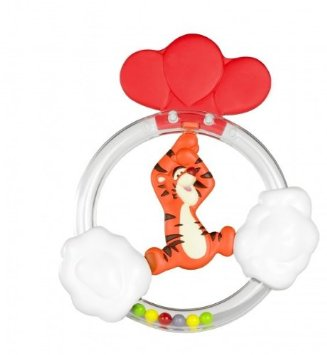 Tomy Teething Rattle Pooh / Tigger