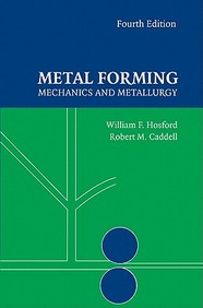 Metal Forming: Mechanics And Metallurgy