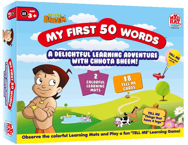 Chhota Bheem My First 50 Words