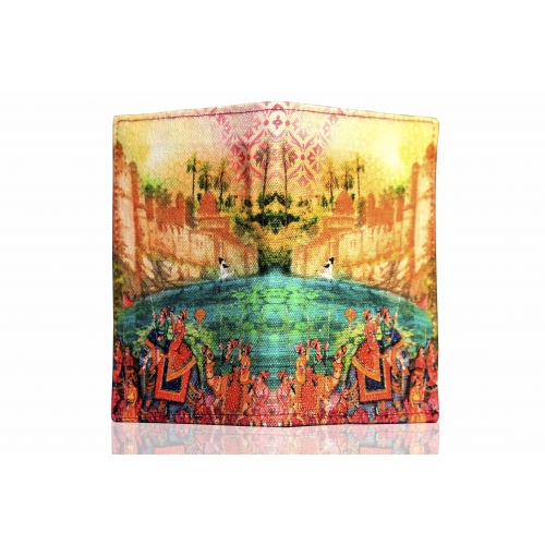 Eco Corner Indian Art Parade Passport Holder
