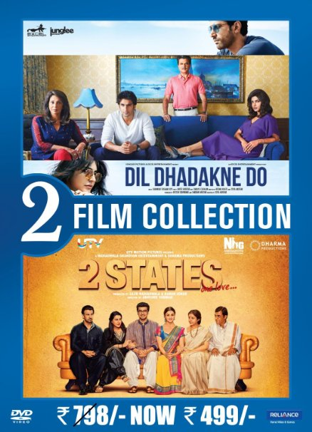 Dil Dhadakne Do / 2 States (2 in 1)