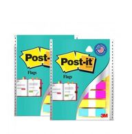 3M Post-it Flag12.5mmx43.7mmx5 Colorsx10 pulls