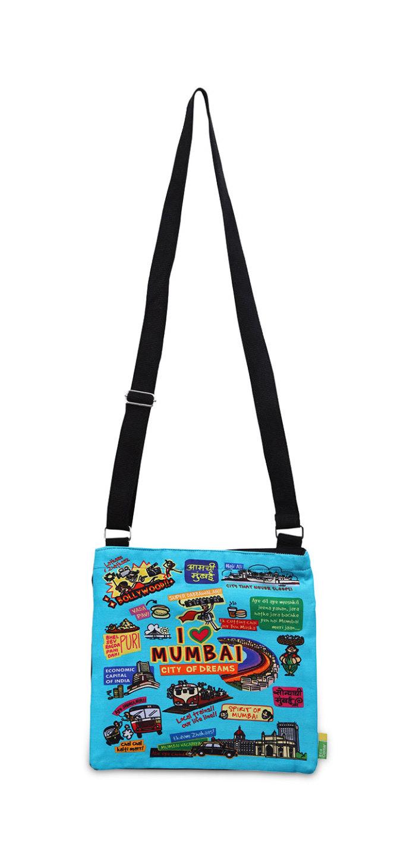 Eco Corner Colour Mumbai Sling Bag