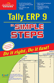 TALLY.ERP 9 SIMPLE STEPS