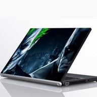 "Laptop Metallic Decals Batman and Joker Arkham 15"""
