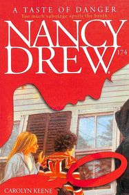 TASTE OF DANGER - 174 NANCY DREW