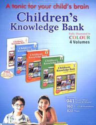 Childrens Knowledge Bank Set Of 4 Vols W/Dvd