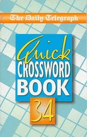 Daily Telegraph Quick Crossword Book (No.34)