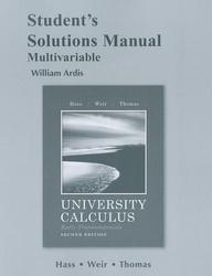 University Calculus, Early Transcendentals, Multivariable Student's Solutions Manual price comparison at Flipkart, Amazon, Crossword, Uread, Bookadda, Landmark, Homeshop18