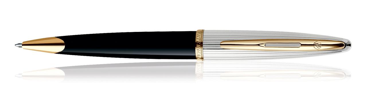 Waterman Carene Deluxe Black GT Ball Point Pen