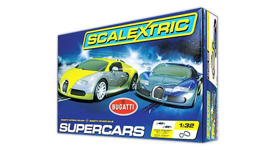 Scalextric Bugatti Super Cars