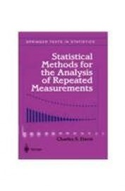 Statistical Methods For The Analysis Of Repeated Measurements