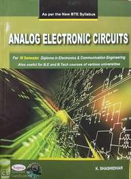 Analog Electronic Circuits For 3 Sem Diploma