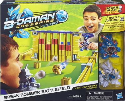 Takara Tomy B-Daman Break Bomber Battle Field