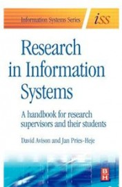 Research In Information Systems - Hand Book For Research Supervisors & Their Students