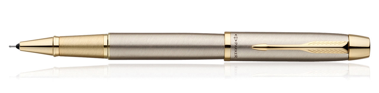 Parker IM Brushed Metal GT Roller Ball Pen