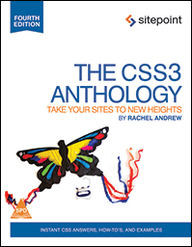 CSS3 ANTHOLOGY TAKE YOUR SITES TO NEW HEIGHTS