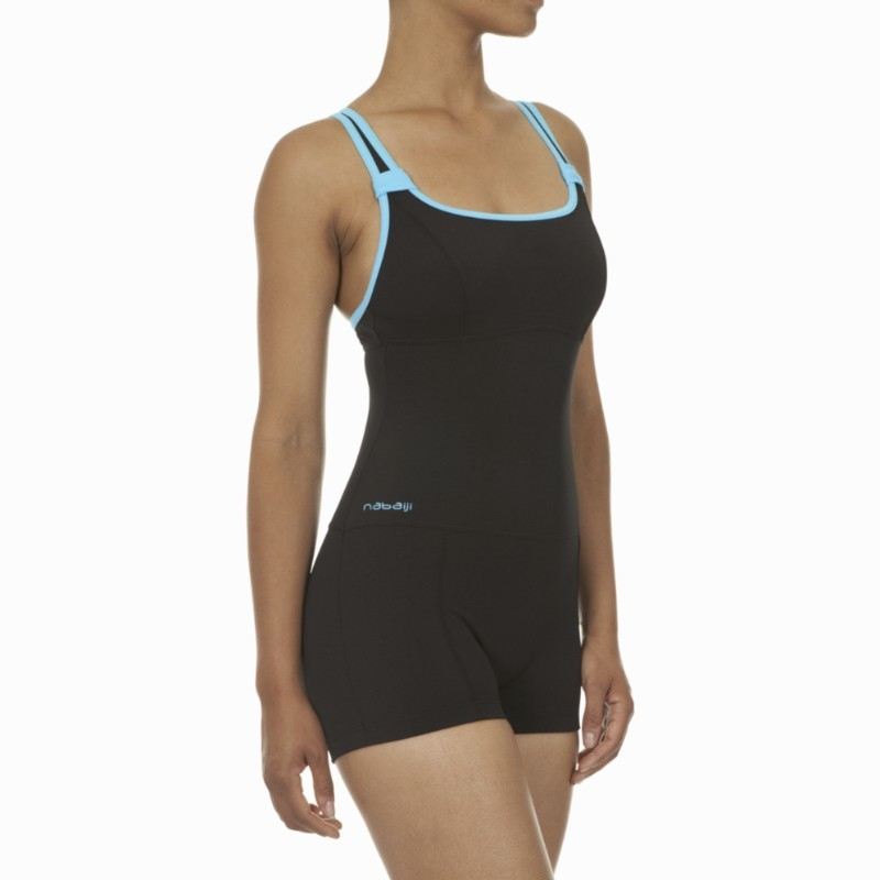 Swimming Swimsuits (Size - L) - Cn Dary Black Blue 1p Shorty