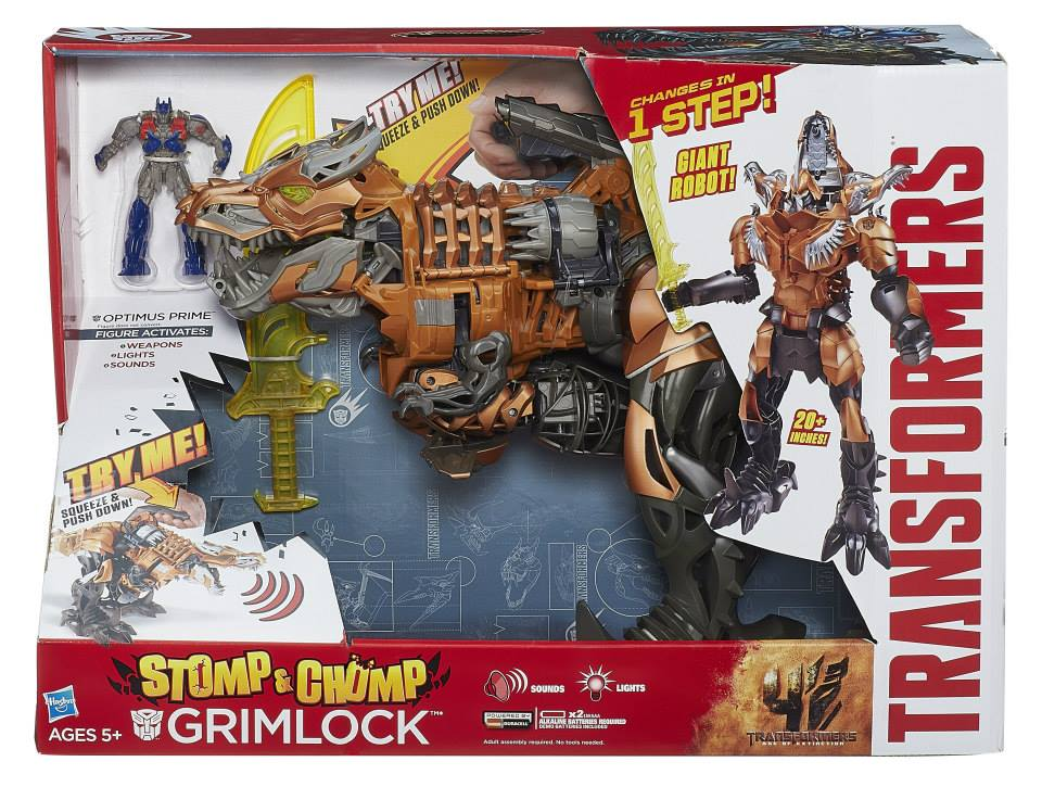 Stomp and Chomp Grimlock