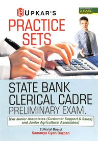 Practice Sets State Bank Clerical Cadre           Preliminary Exam For Junior Associates & Junior