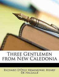 Three Gentlemen from New Caledonia