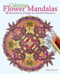 Colouring Flower Mandalas