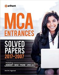 Mca Entrances Solved Papers 2017-2007 : Code : D434