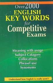 Over 2000 English Key Words For Competitive Exams